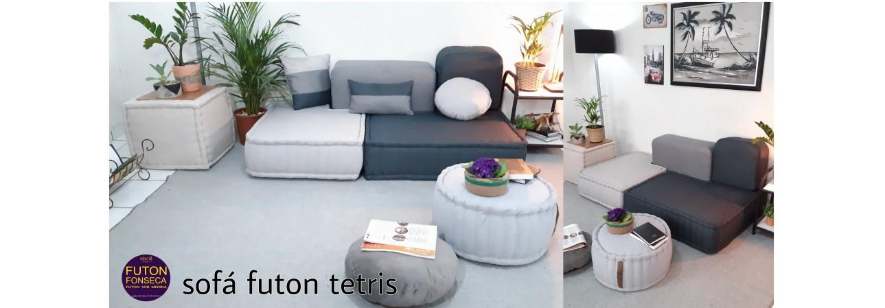 sofá futon tetris